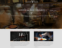 Gourmet House - Acadêmico. HTML5, CSS3 e JS