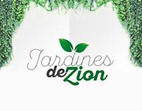 Ecommerce - logo - web branding- Jardines de Zion
