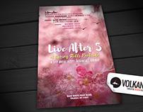 Spring Rolls - Live After 5 - Flyer Design 2016