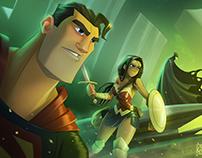 Fan Art - Liga da Justiça