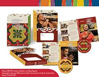 Projeto de kit DVD Samba na Gamboa com Diogo Nogueira