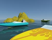Playa 3ds max