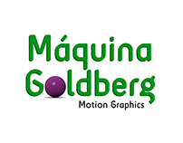 Máquina Goldberg - Motion Graphics