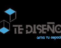Logotipo Te diseño