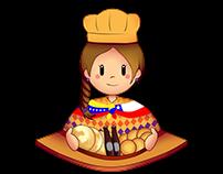 Andinita character design