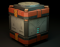 3D Explosive box