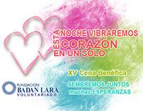 Campaña Social, 2012. XV Cena Badan Lara