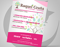 flyer design - Raquel Graña
