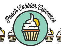 Peach Cabbler Cupcakes Infographic