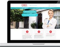 Diseño Web Centro Médico Santa Mónica
