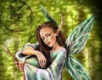 Fairy of Spring- Maddie Ziegler