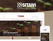 Sitawi // Redesign site institucional