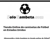 Proyecto SEO - SoloGambeta.com