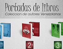 Protadas de Libros (coleccion autores Venezolanos)