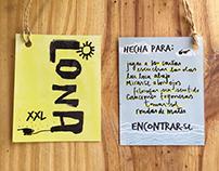 Etiquetas colgantes para Lonas XXL