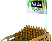 DEL VALLE FRESH / Bottle display 2