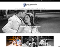 Bodas Cinematográficas - Diseño web Wordpress