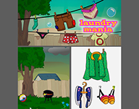 LAUNDRYMANIA: App Game