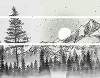 Tattoo Montanhas