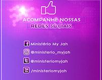 Job de divulgação de Redes Sociais do Ministério My Jah