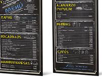 Menú-Online Bar y Tapas