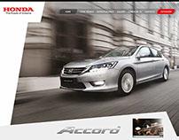Microsite / Honda Automóviles Chile