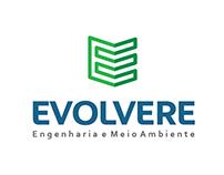 Logotipo Evolvere Engenharia e meio Ambiente
