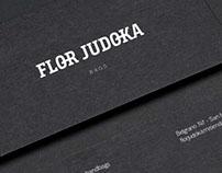 Logo - FLOR JUDOKA - marroquineria