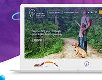 Website ~ Brain Tumor ~ Web design