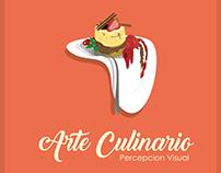 Arte culinario, Percepción Visual (Diseño de Libro)