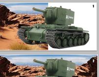 Banner Especial para Tanques R/C - Tamiya Brasil