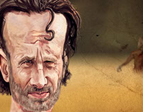 Fanart walking dead