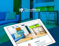 Landing Page Dona Maria Limpeza