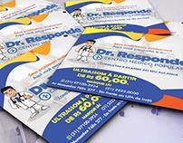 Flyer e Personalização Facebook - Dr. Responde