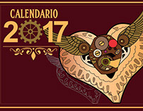 Calendario Steam Punk 2017