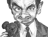 Mr Been caricatura