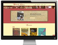 Diseño y desarrollo web: Melmoth Libros