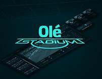 Olé Stadium [UX/UI]
