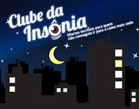 Clube da insônia - Campanha/Campaing
