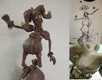 Character Design/Sculpture