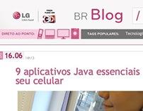 Blog da LG do Brasil