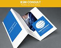 Panfleto duas dobras - RSM Consult