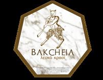 Etiquetas de vino Bakcheia