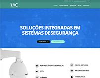 Desenvolvimento web - site Tac Soluções