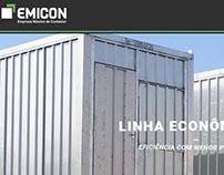 Site Institucional para Empresa -  EMICON