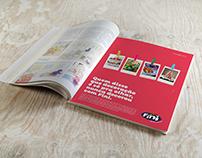 Anúncio de Revista Fini
