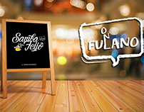 Logo Festa Samba Feijô - O Fulano #Design #Logo