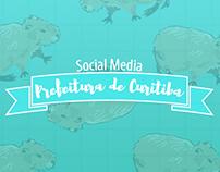Portfólio de Mídias Sociais - Prefeitura de Curitiba