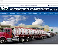 Diseño pagina web empresa de transportes - Colombia