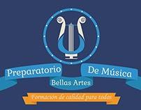 Preparatorio de Musica Bellas Artes Logo
